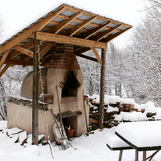 #woodfiredoven #snowday #westernmass #wfo #woodfired