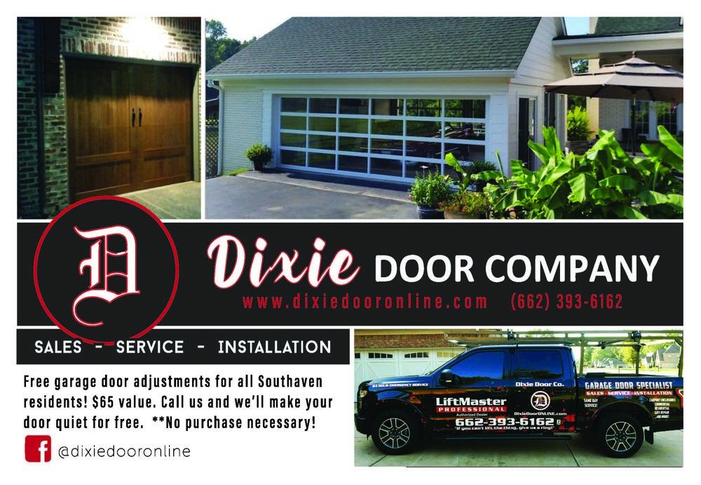 GRAPHIC DESIGN   |   AD DESIGN FOR DIXIE DOOR COMPANY