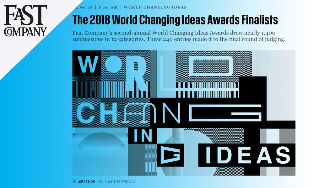 Fast Company WCI Awards - April 2018