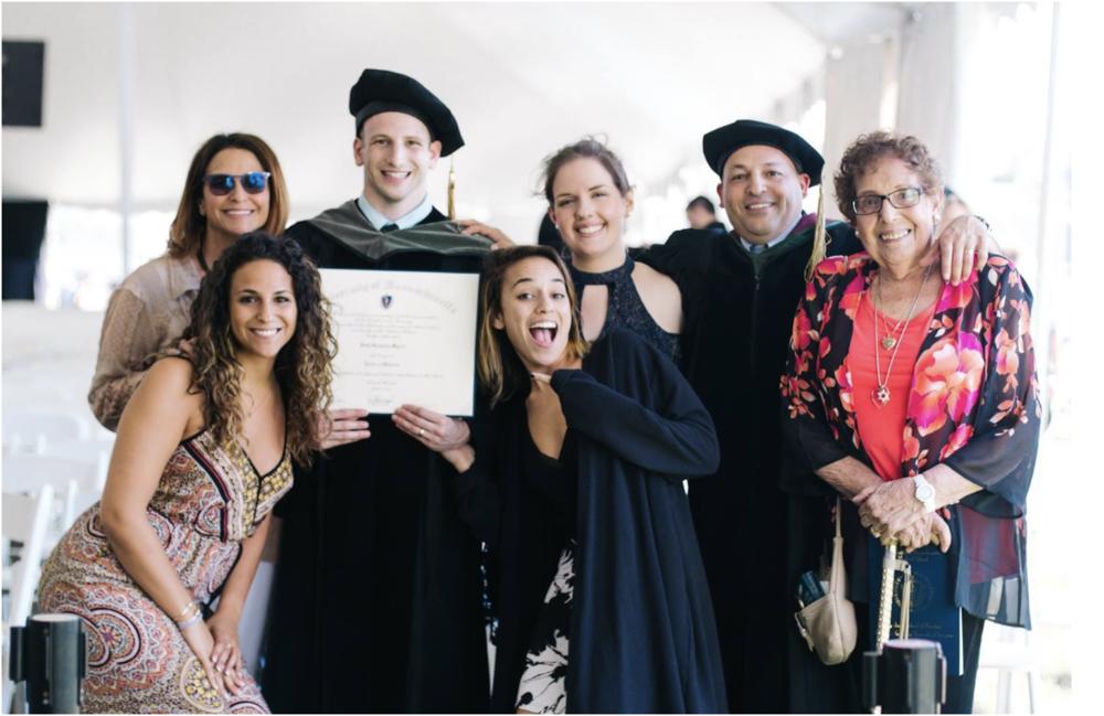 Seth's Medical School Graduation
