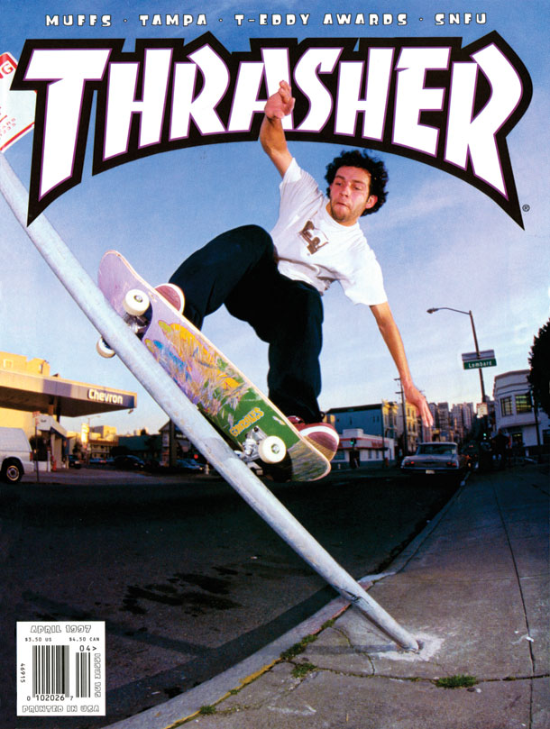 Thrasher cover, April 1997