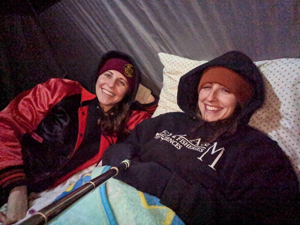 Tent goons