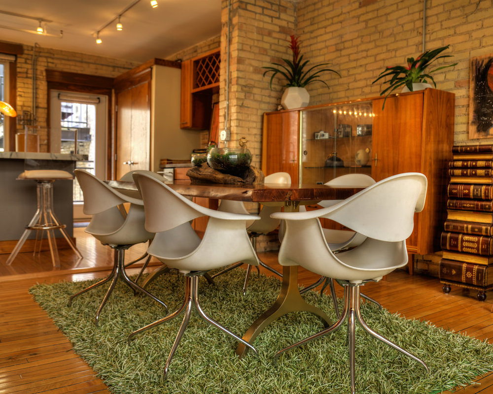 These 2000s Herman Miller White Chairs Could Be Used In A Dining Room Or Office Space