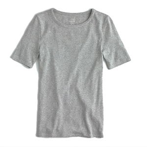 #3 - J.Crew Slim Perfect T-Shirt