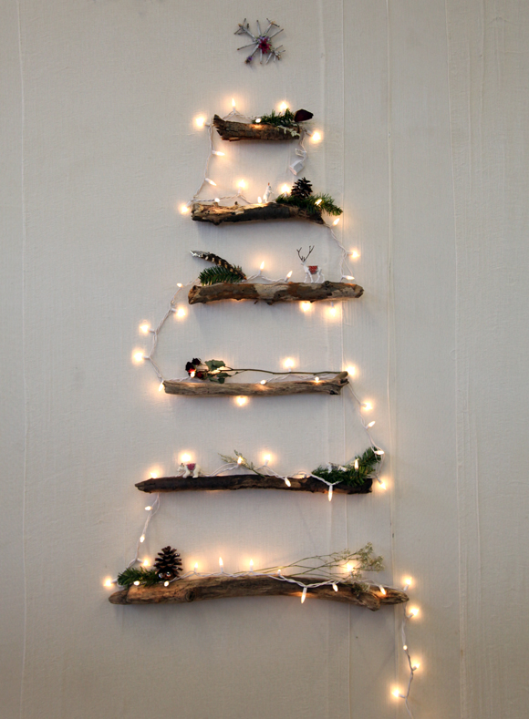 http://decorhacks.com/2013/11/diy-alternative-christmas-tree/
