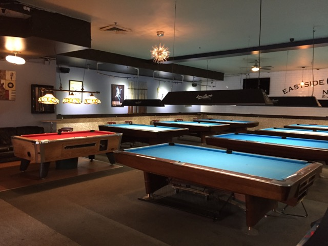 Eastside Billiards Bar - Pool table rental nyc