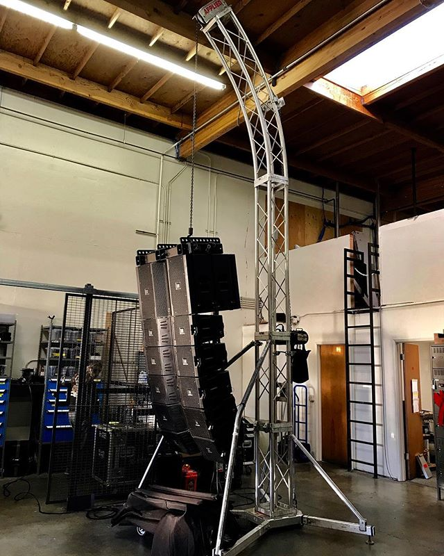No roof, need delay towers, no problem! We have the solutions to bring your high-end events to the spaces and venues you never thought were possible. #productoftheweek #appliedelectronics #delaytower . . . . . #proaudio #audio #sound #lights #lighting #video #production #productionlife #speakers #event #events