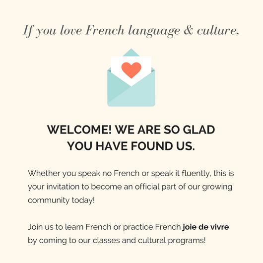 Welcome to the French Institute
