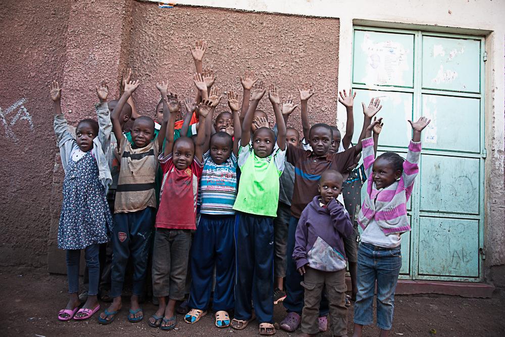 Children in Matopeni. ©  Rabih R. Zahran