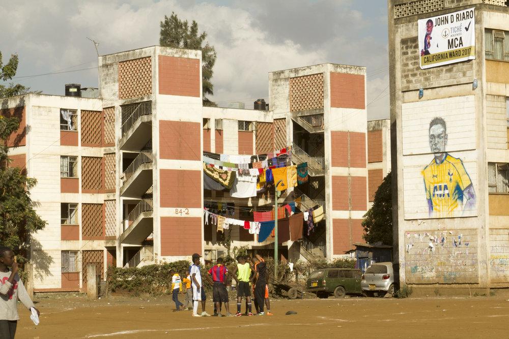 California, Nairobi.