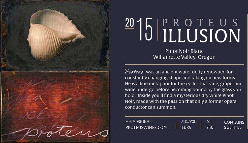 Proteus 2015 Illusion Pinot Noir - 91 points (Editors' Choice)