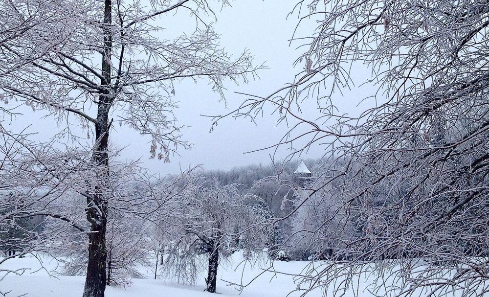 Entrance, Winter