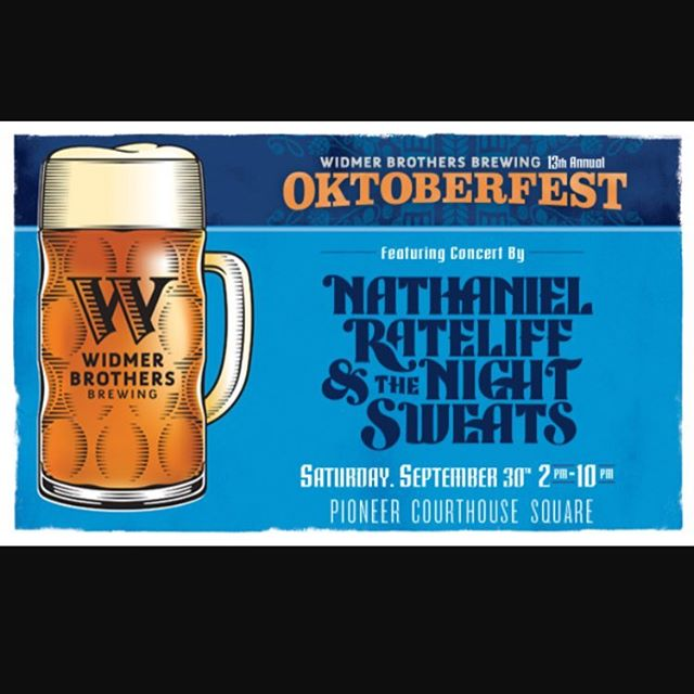 BIG NEWS! We will be apart of the catering team for Oktoberfest at Pioneer Square! Tomorrow, September 30th! Good beer and good eats. Shoutout to @widmerbrothers for hosting this incredible event