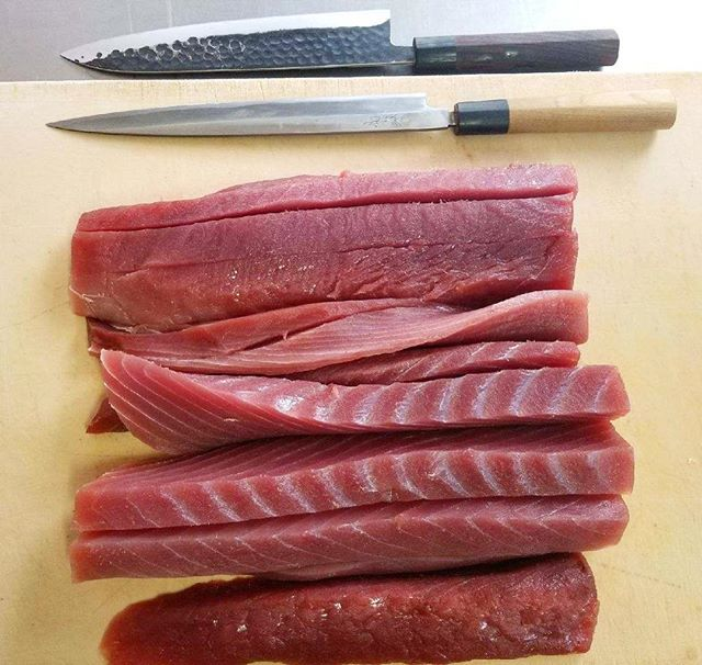 Fresh fish daily, followed by the finest cuts. Let's Roll.
