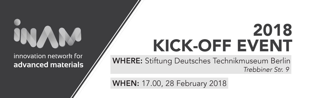 2018 INAMKick-Off Event - Starting off the year on a high note! Join us at the Deutsches Technikmuseum to kick off the calendar year with food, drinks and networking while also discussing material science trends and what YOU as members and future members of INAM want to see in the upcoming calendar year.