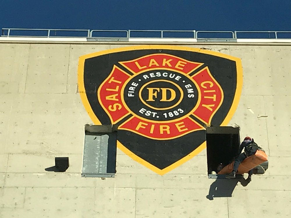 Thank You! - To our family at SLCFD, thank you for allowing us and the community to come together at the Tower for a great cause.