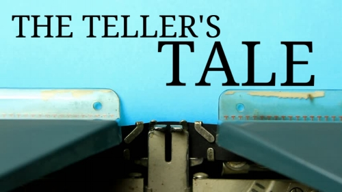 THE TELLER'S TALE - 10 Min. Comedy.  2W 1M.On the day of her possible promotion to loan officer, cynical bank teller Roxanne must save the bank when Davy, her best friend Patty's ex-con boyfriend tries to hold her up. Roxanne is forced to reconsider her fatalistic outlook on life and romance in this screwball comedy's surprising outcome.