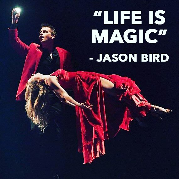 Jason Bird is a master magician, writer, storyteller, and visionary. He is a part-time mad scientist and full-time dreamer.  You can enjoy his unique and compelling approach to magic in Las Vegas or in any one of his television and online projects.  See Jason Live at Bally's Casino Performing in Masters of Illusion. : : : : : : : : : : : : : #illusion #illusionists #illusions #stagemagic #levitation #reddress #lifeismagic #lifeisgood #dreamcatcher #madscientists #magician #magicians #magictricks #lasvegasstrip @mastersofillus #storyteller #visonary #magicplace #magichour @jasonbirdmagic