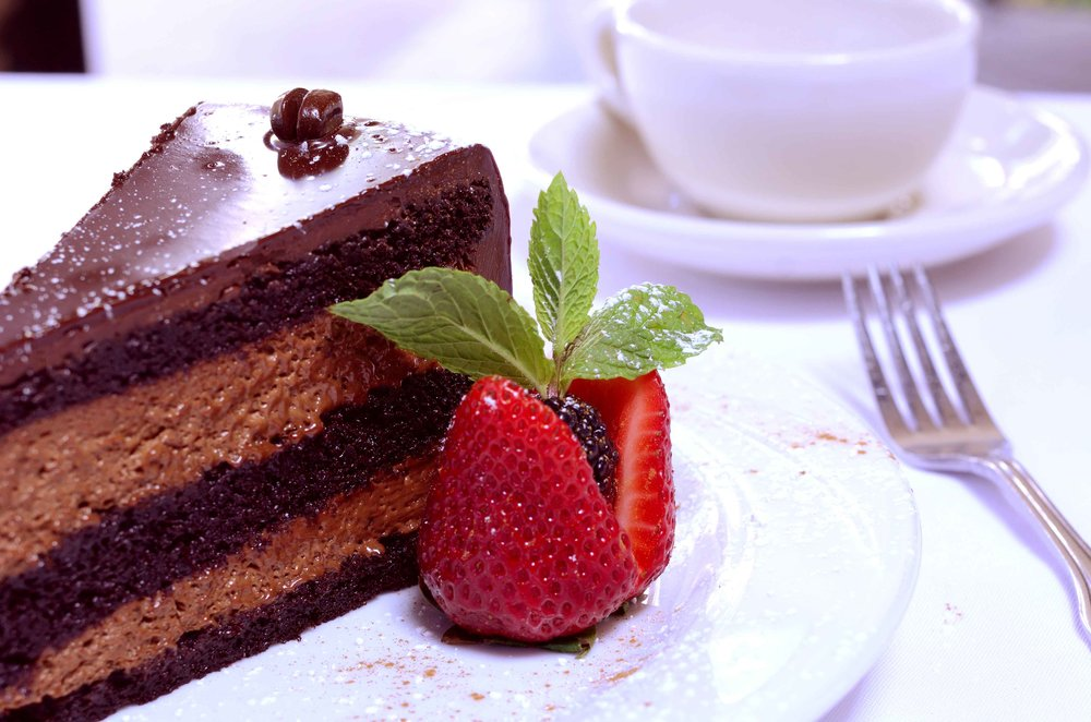Double Dark Chocolate Mousse Cake