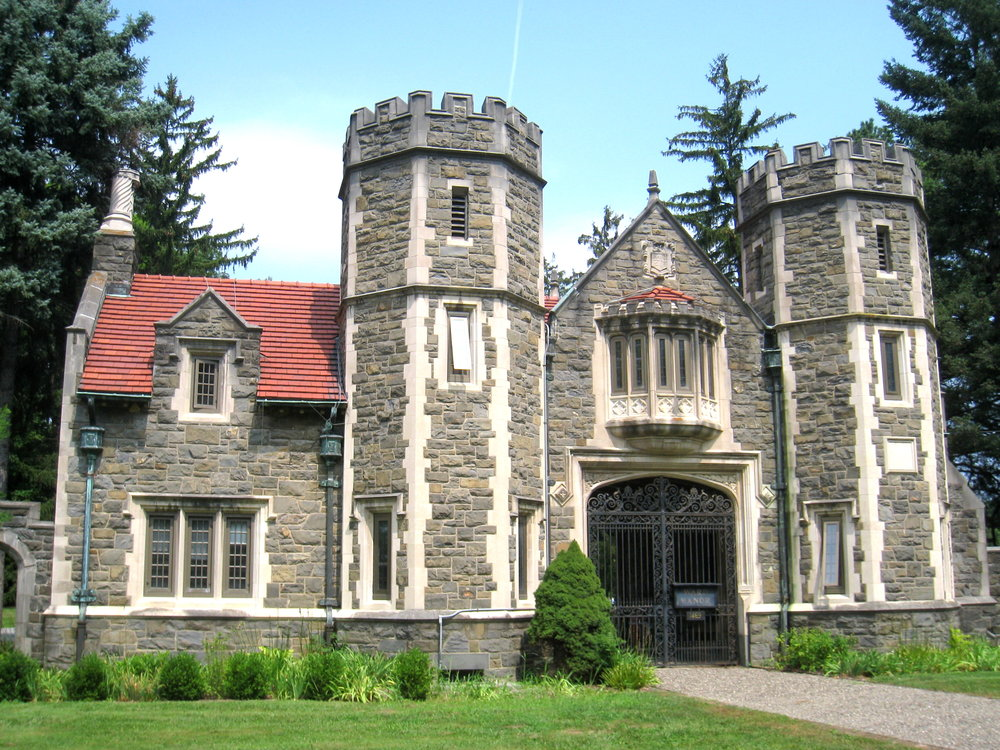 Ward Gate: Home of the Center for Civic Engagement.