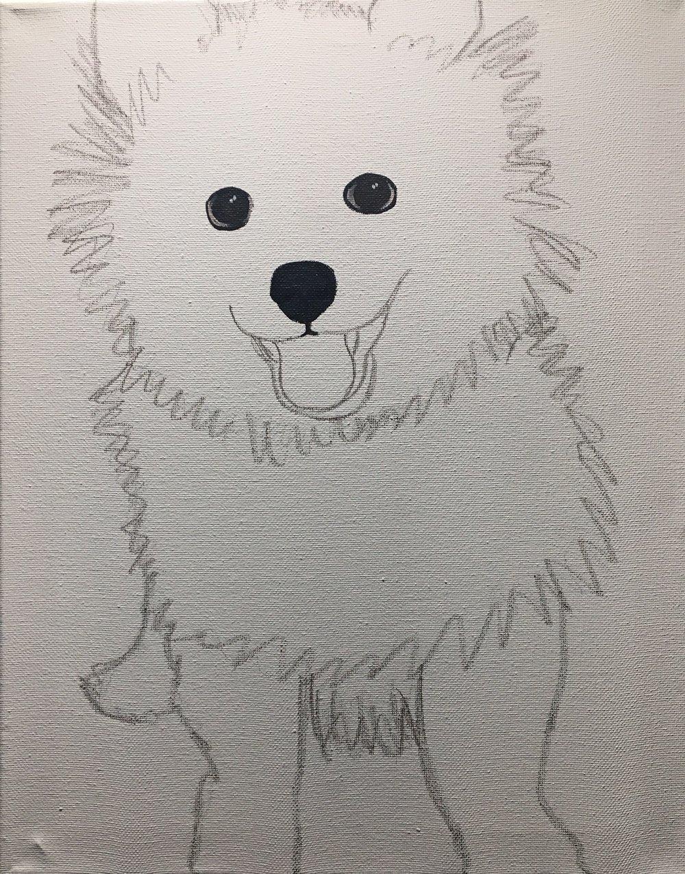 Pre-sketch