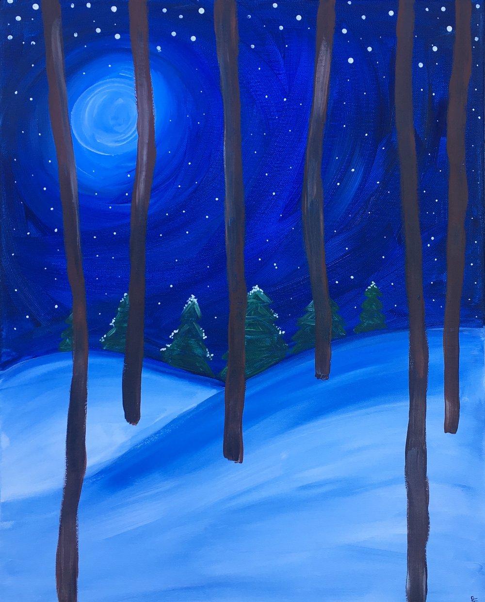 *Winter Pines