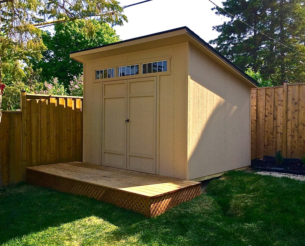 Prefab Wooden Shed -