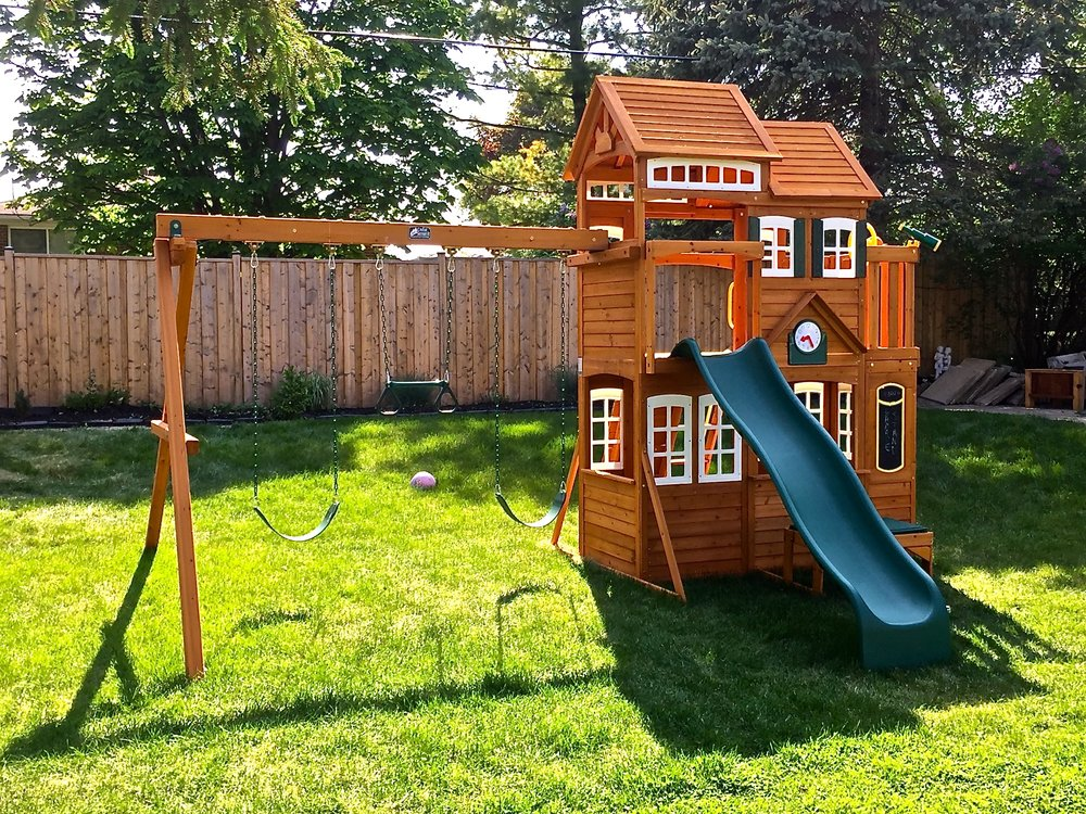 The Shed Installer Guys Greater Toronto Area Play Set Installs