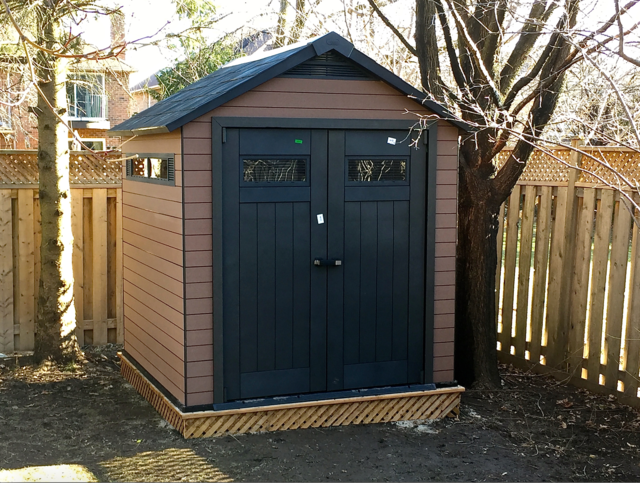 Keter-Fusion-Shed-Installed-on-Wood-Base-Review