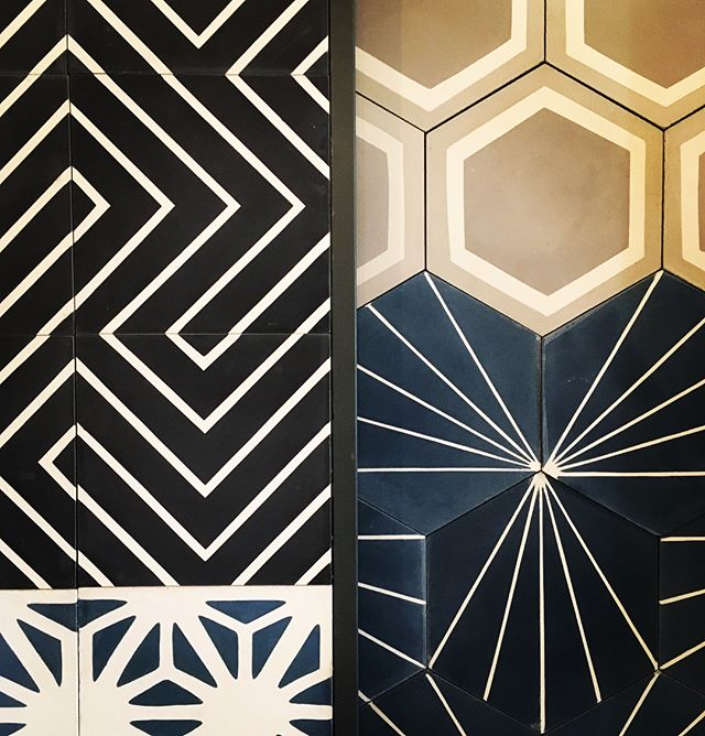 Tile inspiration for days!  @clayimports