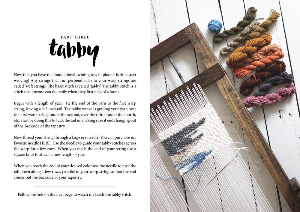 online weaving class basics 2