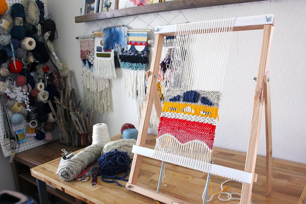 online weaving class
