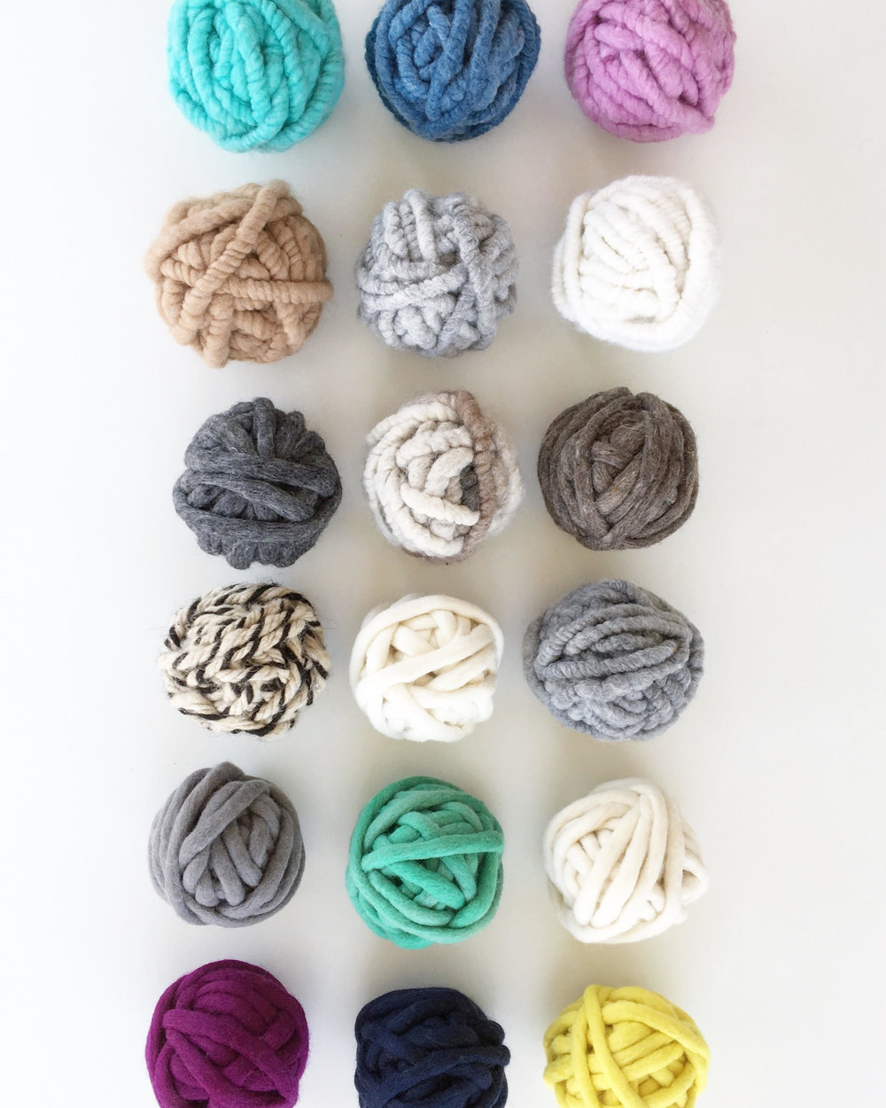 Chunky Weaving Yarn