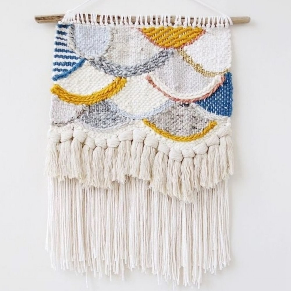 Handwoven Wall Hanging Tapestry