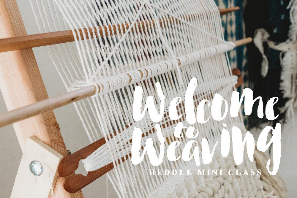 weaving heddle mini class
