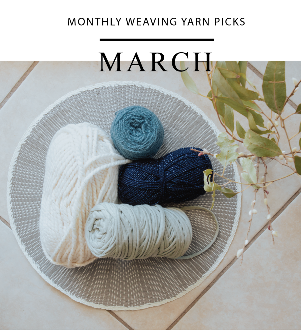 best yarns for weaving