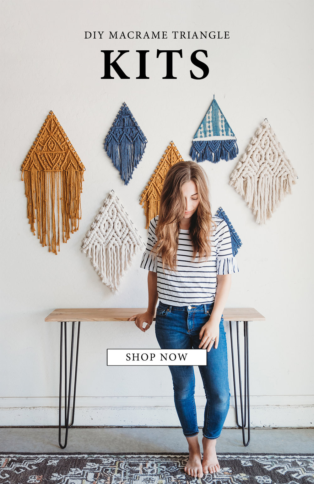 macrame triangle kits
