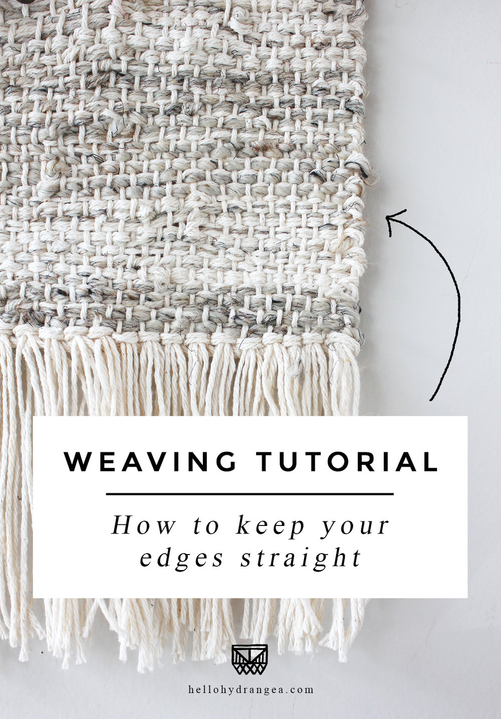 weaving keep edges straight