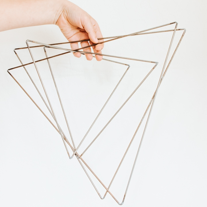 metal triangle