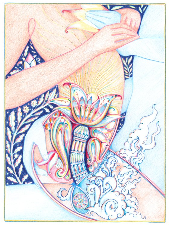 Expanding Universe by Alpha Channeling