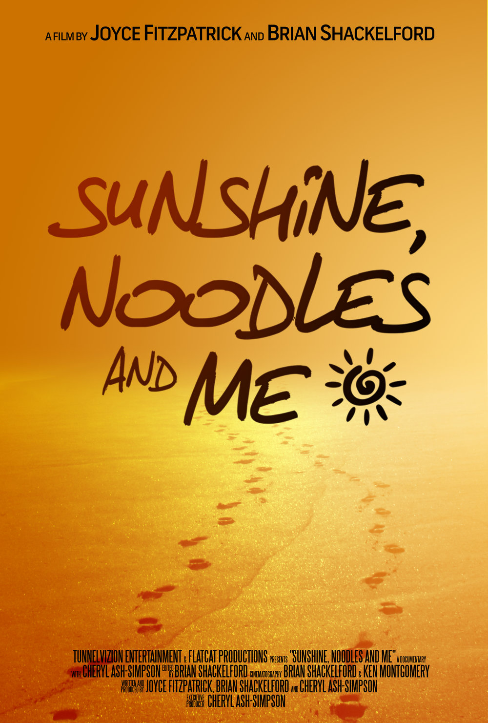 "DOCUMENTARY (2014)  ""Sunshine, Noodles and Me"" is a documentary about the journey of a woman who discovers she has breast cancer just three days before her wedding. Blessed, bald, and beautiful, Cheryl Ash-Simpson shares her heartwarming story, giving an honest portrayal of her battle with breast cancer and her determination to beat the disease. With the love and support of her fiancé, Cheryl shows you that you can get through adversity, especially if you're armed with love.  Awards: First Place Winner at The Capital City Black Film Festival, Bronze Winner at the Kingdomwood Christian Film Festival, Official Selection at Greater Cleveland Urban Black Film Festival, Official Selection at the Greater Cleveland Urban Black Film Festival, and Official Selection at the Pan African Film Festival.   http://www.sunshinenoodlesandme.com/    I MDB:  Sunshine, Noodles and Me    F acebook:  S  unshine Noodles and Me   Twitter:  @sunnoodlesandme   Instagram:  @sunshinenoodlesandme"