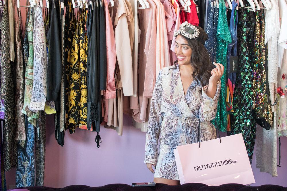 Peek Inside Celebrity Pre-Coachella Gifting Suite PLT happy shopper.jpg
