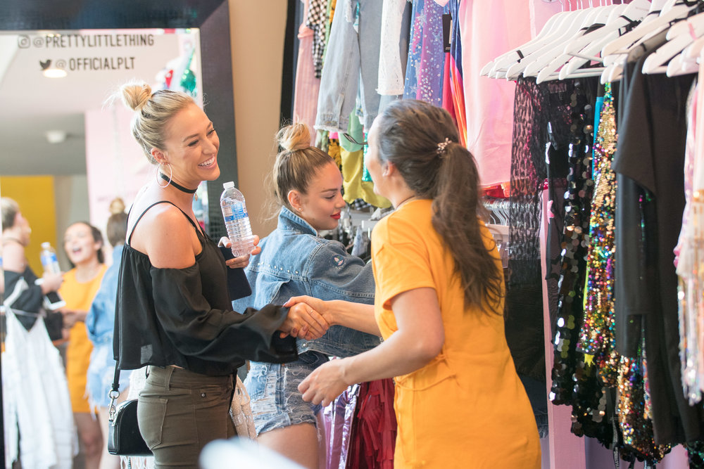 Peek Inside Celebrity Pre-Coachella Gifting Suite such happy shoppers.jpg