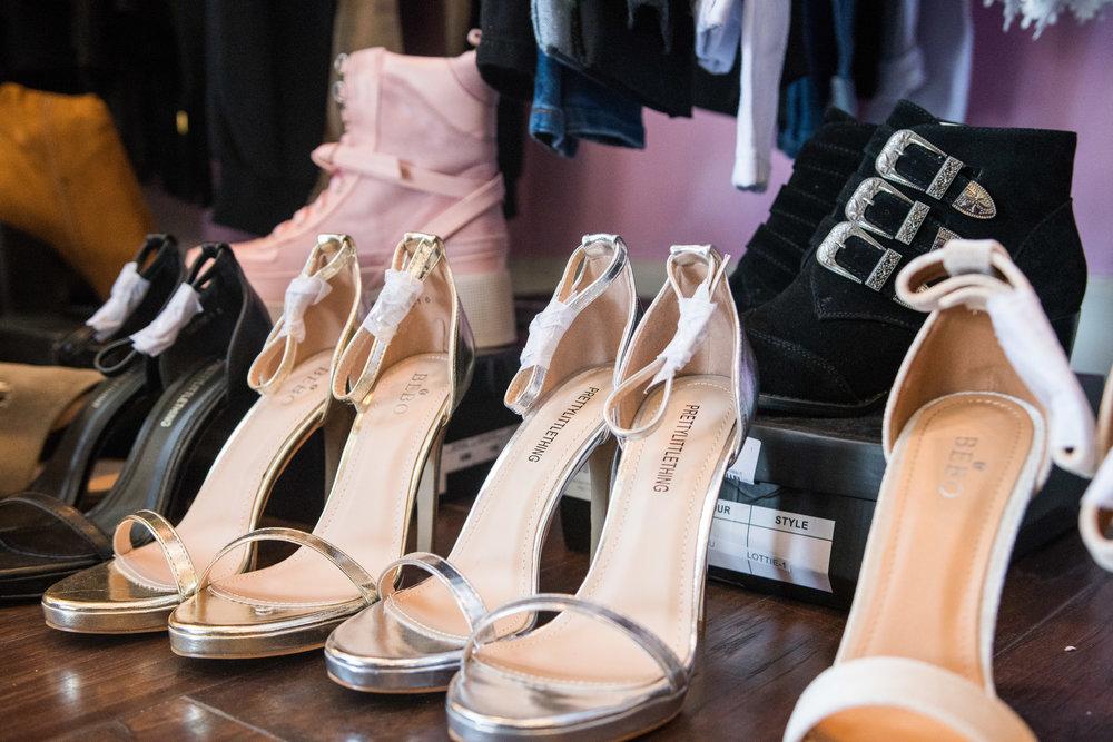 Peek Inside Celebrity Pre-Coachella Gifting Suite PLT heels.jpg