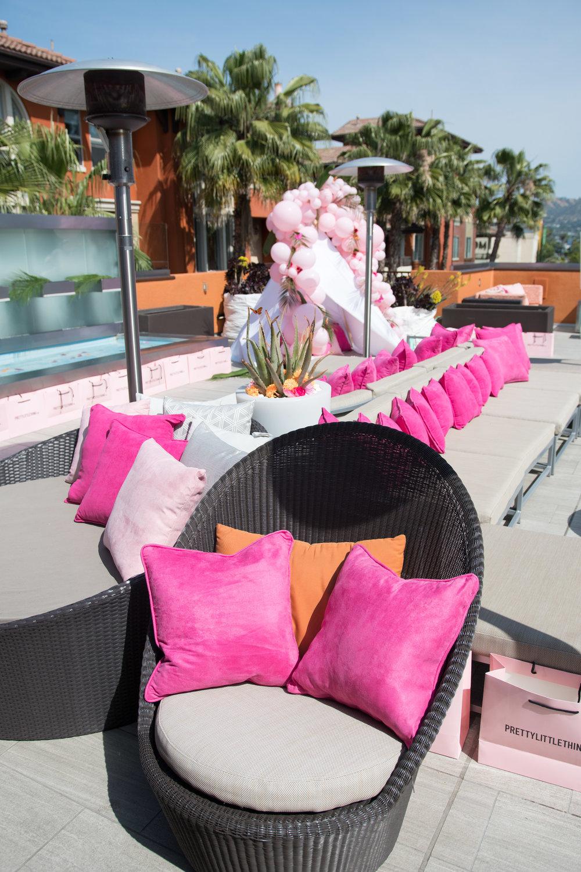 Peek Inside Celebrity Pre-Coachella Gifting Suite PLT poolside party lounge.jpg