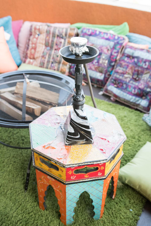 Peek Inside Celebrity Pre-Coachella Gifting Suite colorful houka.jpg