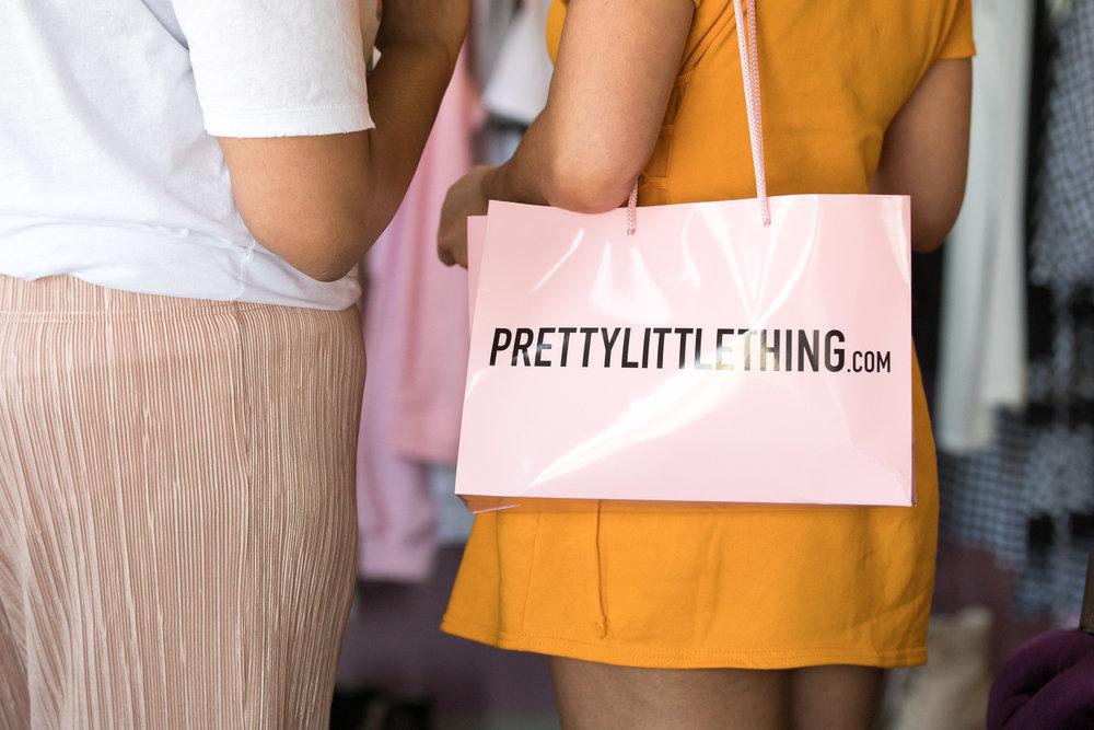 Peek Inside Celebrity Pre-Coachella Gifting Suite pretty pink PLT bag.jpg