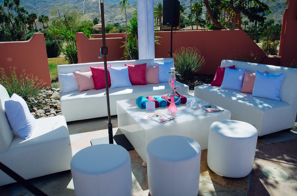Ultimate Hollywood Coachella Poolside Party pink houkah lounge.jpg