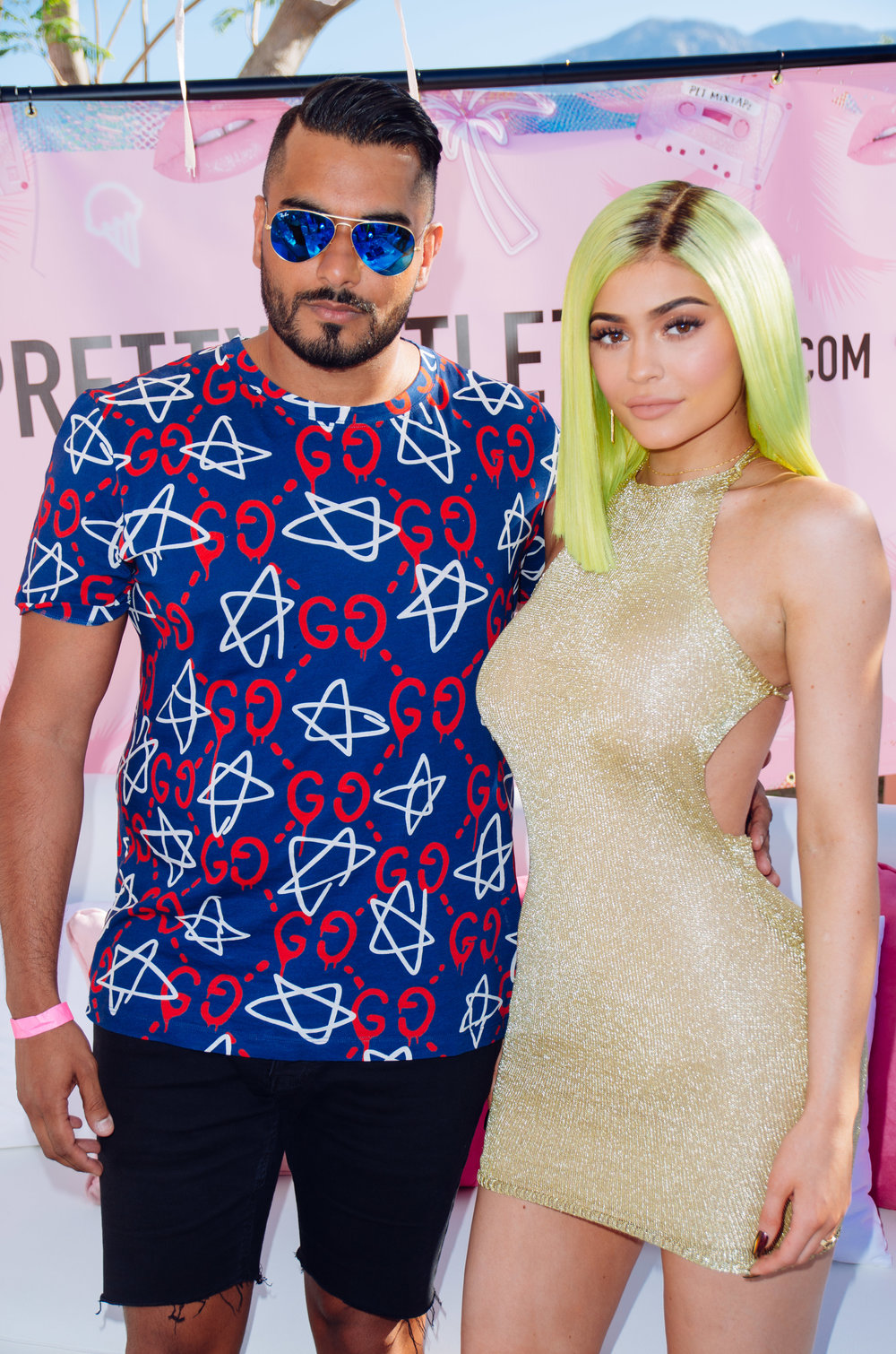 Ultimate Hollywood Coachella Poolside Party umar kamani kylie jenner.jpg