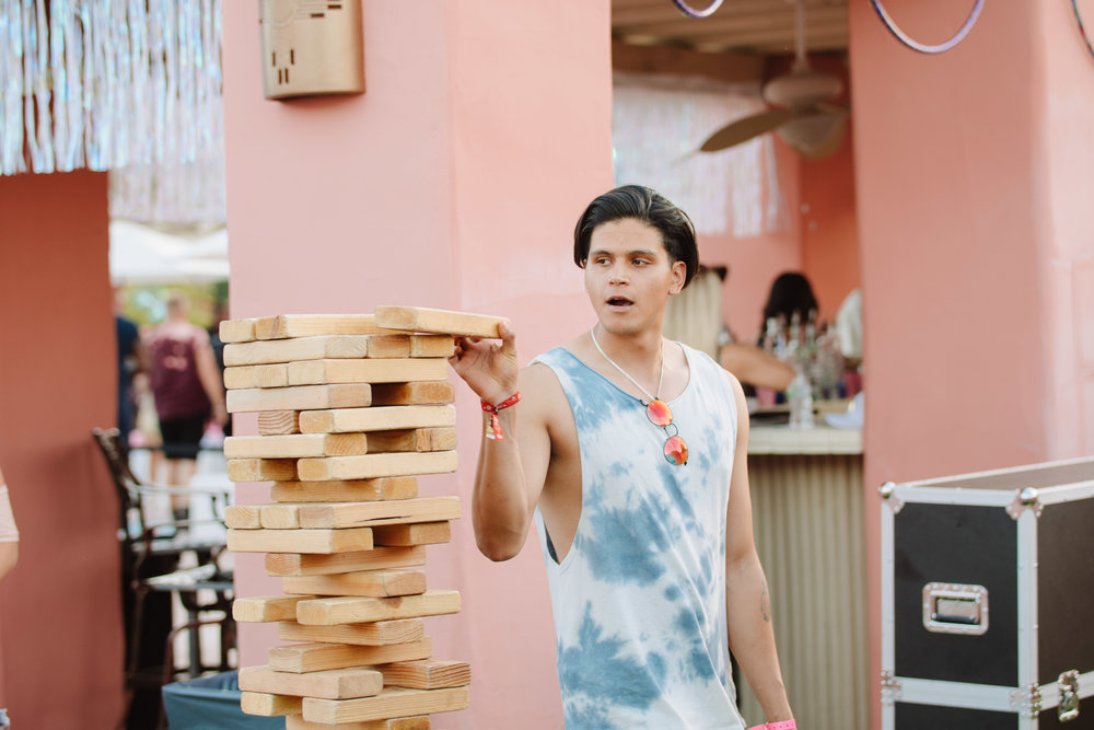 Ultimate Hollywood Coachella Poolside Party lifesize jenga.jpg